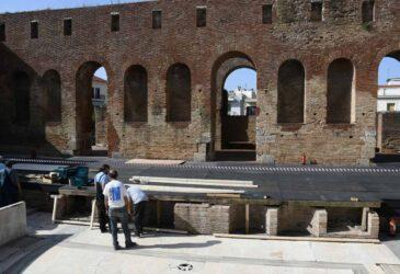 Πάτρα: Αυτοψία και επισκευές στο κάστρο του Ρίου και το Ρωμαϊκό Ωδείο