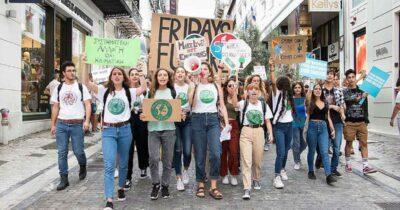 Κάλεσμα στην παγκόσμια κινητοποίηση νέων Fridays For Future την Παρασκευή 24 Σεπτεμβρίου