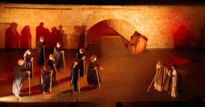«Οιδίπους επί Κολωνώ» του Σοφοκλή από την Γαλλική ερευνητική ομάδα Theatra IIστο «Θέατρο της ημέρας»